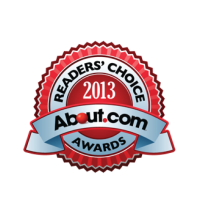 About.com Readers Choice Award 2013
