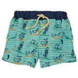 Doggie Paddle Swim Trunks