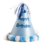 Blue Birthday Boy Hat