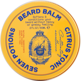 Organic Beard Balm, Citrus Tonic 2 oz