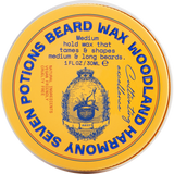 Organic Beard Wax by Seven Potions, Woodland Harmony Scent 1 oz