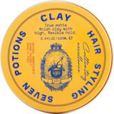 Hair Styling Clay, 3.4 oz,Organic