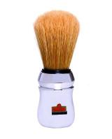 Omega Boar Brush, Chrome Handle
