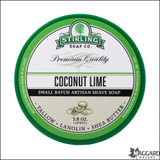 Coconut Lime Shave Soap by Stirling Soap Company