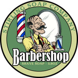 Barbershop Scent Shave Soap by Stirling Soap Co
