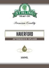 Haverford Aftershave Splash by Stirling Soap Company