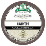 Haverford Natural Beard Balm by Stirling Soap Company, 2 oz