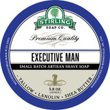 Executive Man Shave Soap by Stirling Soap Company