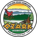 Ozark Mountain Shave Soap by Stirling Soap Company