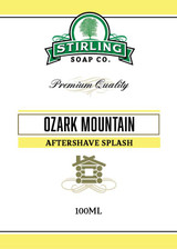 Ozark Mountain Aftershave by Stirling Soap Company