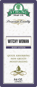 Witchy Woman Lotion by Stirling Soap Company