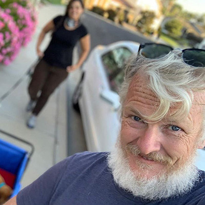 Ian's Covid Beard Story