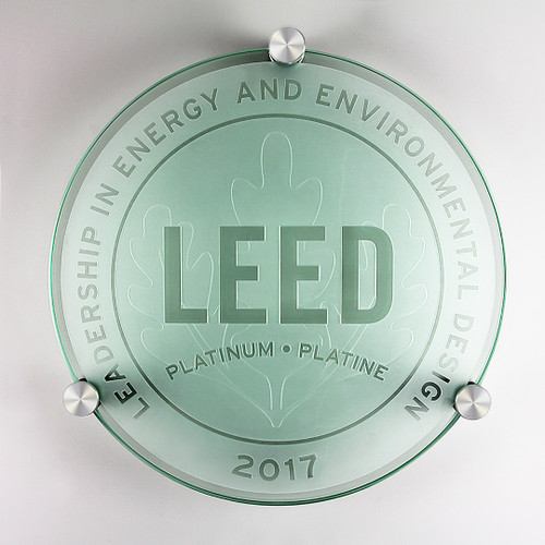LEED Plaque - Platinum | Canada