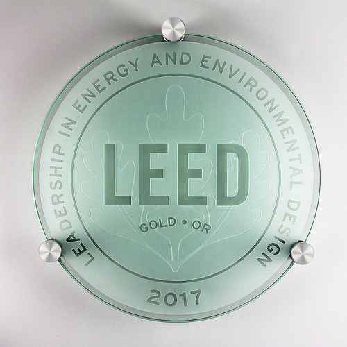 LEED Plaque - Gold | Canada
