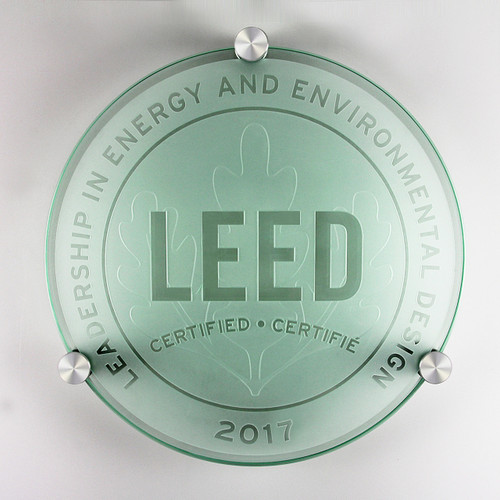 LEED Plaque - Certified | Canada