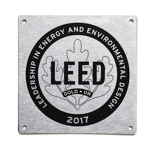 LEED Canada for Homes Plaques | Available to LEED Platinum, Gold, Silver and Certified homes.