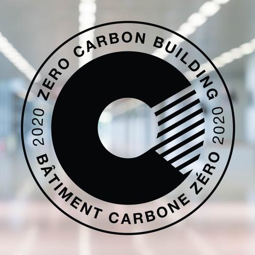 Zero Carbon Decal - black vinyl   Canada