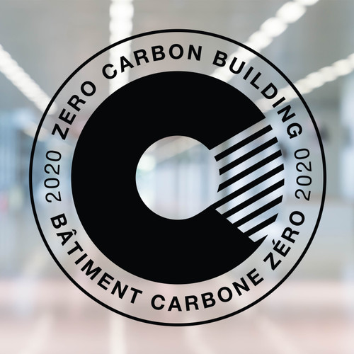 Zero Carbon Decal - black vinyl | Canada