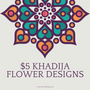 $5 Khadija Flower Henna Designs