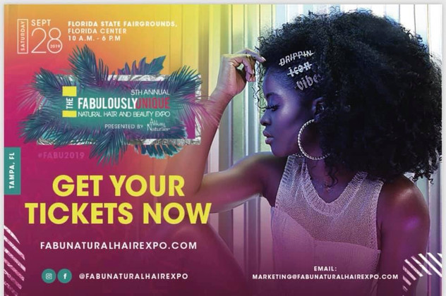 2019 Fabulously Unique Natural Hair & Beauty Expo - Tampa, Florida 9/28