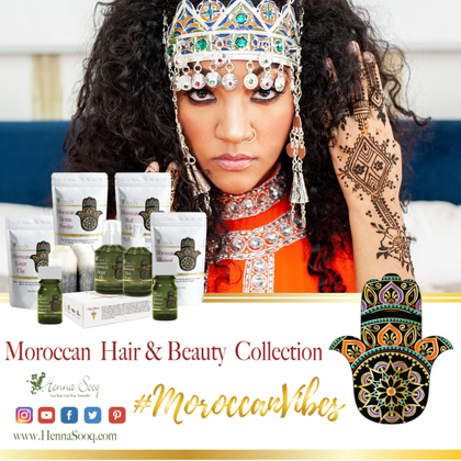 New! Moroccan Hair and Beauty Collection with exclusive Artisan Beauty Bowl
