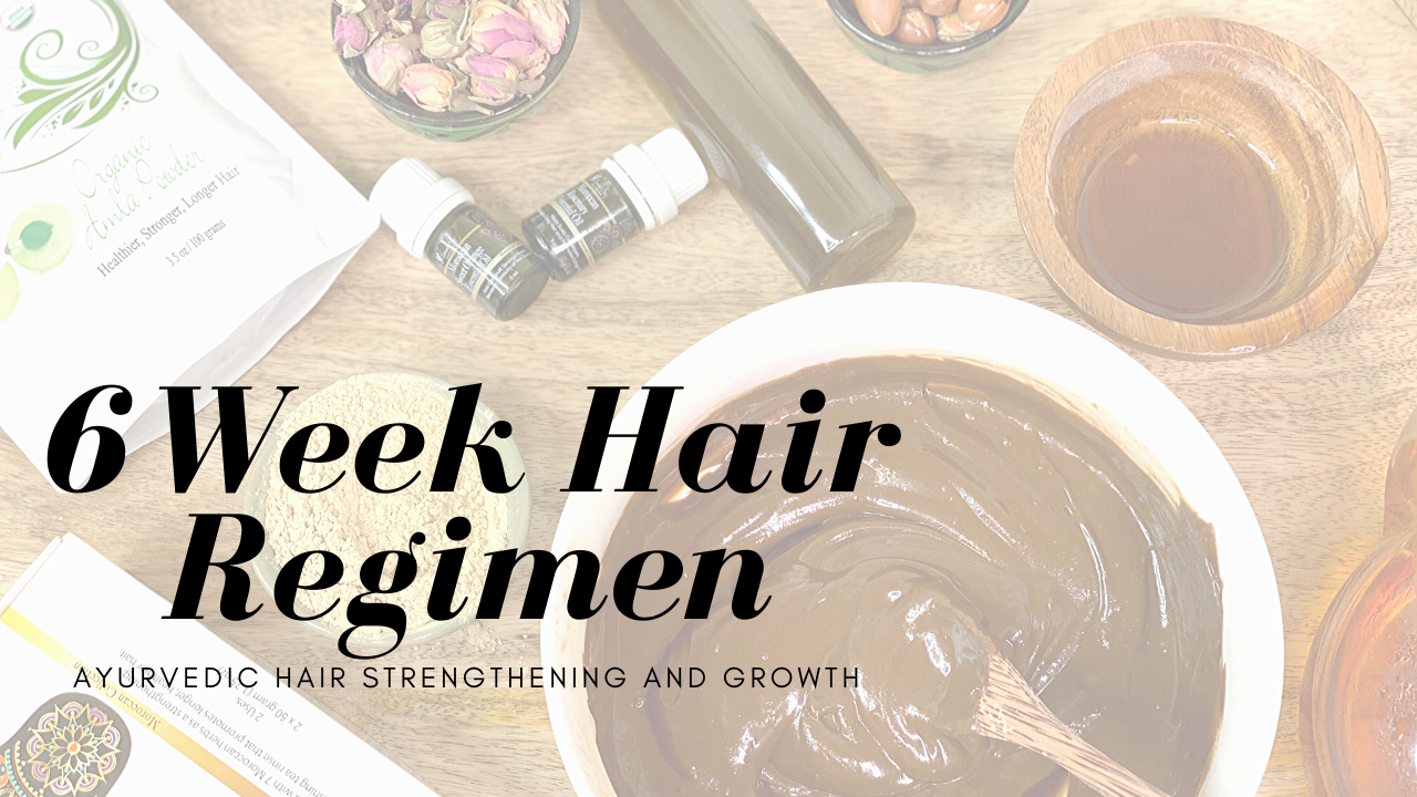 Henna for Hair and Ayurvedic Healthy Hair Care | Monthly Membership