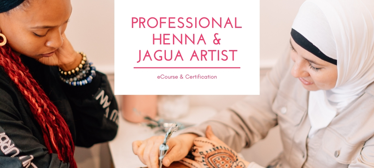 certified professional henna artist eCourse for the professional