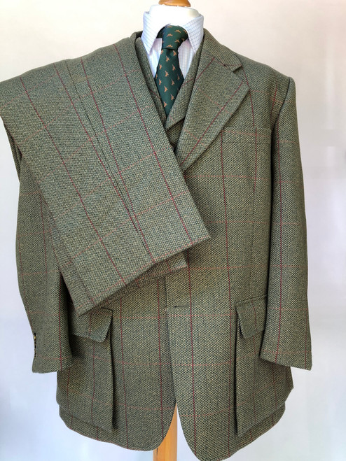 "Hucklecote 3-piece shooting suit, 46"" (VGR40)"