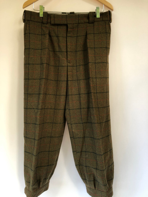 """Fully-lined breeks by Charles Gale, with shooting waistcoat (34"""" waist) VGRKB1"""