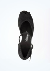 Diamant Zapatos Ginger 5 cm Negro #2. [Negro]