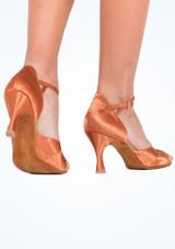 Zapatos de Baile Cindy Rummos 7cm Marrón Claro #3. [Marrón Claro]