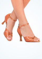 Zapatos de Baile Cindy Rummos 7cm Marrón Claro #2. [Marrón Claro]