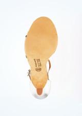 Zapatos de Baile Elite Bella Rummos 7,6cm Plata #3. [Plata]