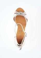 Zapatos de Baile Elite Bella Rummos 7,6cm Plata #2. [Plata]
