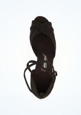 Diamant Zapatos Camilla 5 cm Negro #2. [Negro]