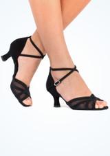Diamant Zapatos Camilla 5 cm Negro #4. [Negro]