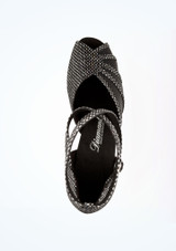 Zapatos de Baile Anja Diamant 6cm Negro #2. [Negro]