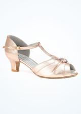 Zapatos de Baile Saturn Dancesteps 4cm Rosa. [Rosa]