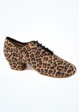 Zapatos de Baile Leopardo Alda R377 Rummos 5cm Multicolor. [Multicolor]