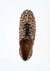 Zapatos de Baile Leopardo Alda R377 Rummos 5cm Multicolor #2. [Multicolor]