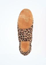 Zapatos de Baile Leopardo Alda R377 Rummos 5cm Multicolor #3. [Multicolor]