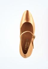 Zapatos de Baile Emilia R337 Rummos 7cm Marrón Claro #2. [Marrón Claro]