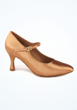 Zapatos de Baile Emilia R337 Rummos 7cm Marrón Claro. [Marrón Claro]