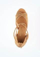 Zapatos de Baile Conni R370 Rummos 8cm Marrón Claro #2. [Marrón Claro]