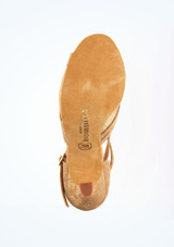 Zapatos de Baile Conni R370 Rummos 8cm Marrón Claro #3. [Marrón Claro]