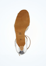 Zapato de latino y salsa Remi Diamant 5cm Plata #3. [Plata]