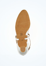 Zapatos salon Geri Diamant 4,2cm Blanco #3. [Blanco]