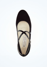 Zapato salon Marina Werner Kern 2,6cm Negro #2. [Negro]