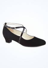 Zapato salon Marina Werner Kern 2,6cm Negro. [Negro]