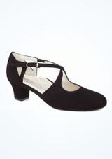 Zapato salon Werner Kern Gala 4,5cm Negro. [Negro]